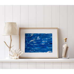 Elation Collection: Blues 3 Print