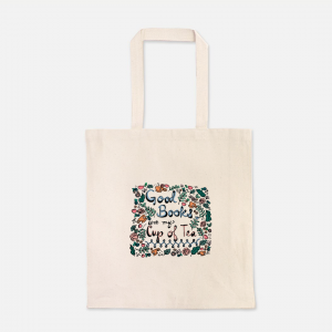 Good Books Are My Cup of Tea Tote