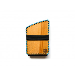 Curv X Wood and Leather Card Wallet