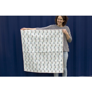 Quilted Blanket: Cityscape
