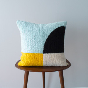 Colorblock Pillow Cover
