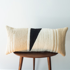 Neutral Geometric Pillow Cover