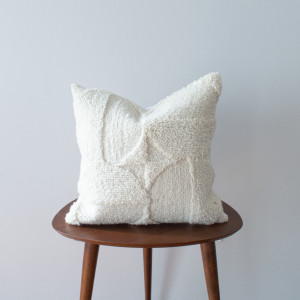 Neutral Varied Pile Pillow cover