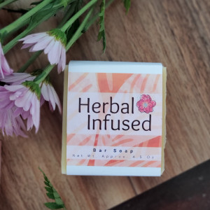 Herbal Infused Soap Bar