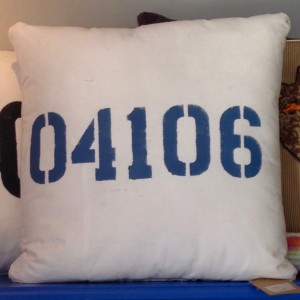 Nautical Printed Pillow – Custom/Throw Pillow