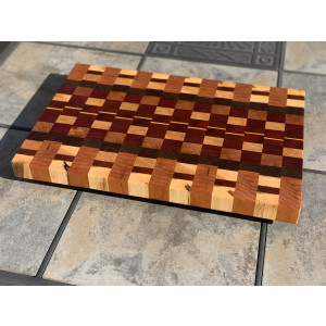 Exotic End Grain Cutting Board - CB01