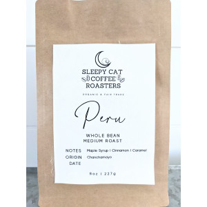 Organic and Fair Trade Coffee Beans- Peru