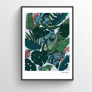 Palm Botanical Print