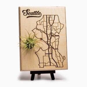 Urban Map Garden - Seattle - Maple Ply