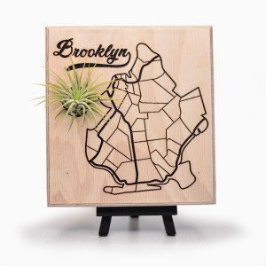 Urban Map Garden - Brooklyn - Maple Ply