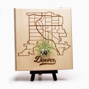 Urban Map Garden - Denver - Maple Ply