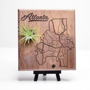 Urban Map Garden - Atlanta - Walnut