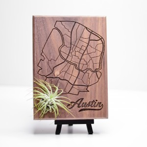 Urban Map Garden - Austin - Walnut