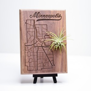 Urban Map Garden - Minneapolis - Walnut