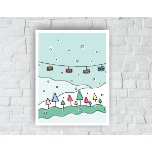 Winter Gondola