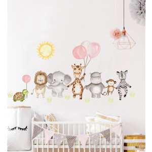 Safari nursery wall sticker