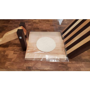 Handmade tortilla press